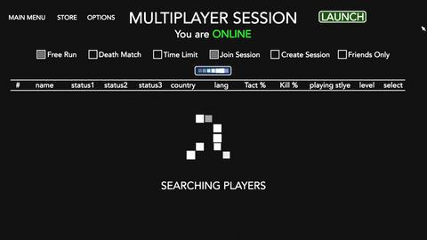 4K Video Game Multiplayer Fictional Display Animation Fullscreen 1 Animation