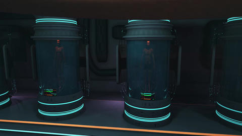 Waking Up in Cloning Capsule POV Cinematic 3D Animation 2 Animation