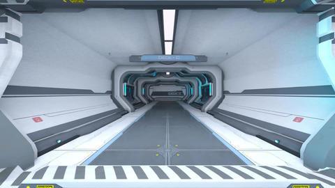 Sci-fi In the SpaceShip CG動画