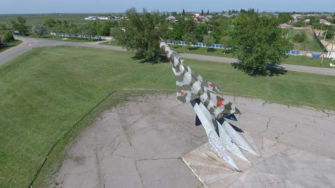 Monument to the fighter aircraft Photo