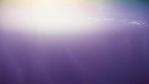 4K Beautiful Underwater Godrays Ocean Scene 3D Animation Animation