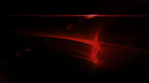 Festive red abstract background with flare Animation