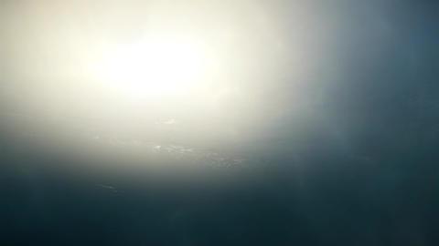 4K Underwater Sunset Ocean Scene 3D Animation 1 Animation