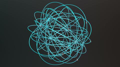 Modern Design Science Chemistry Concept 5 Animation
