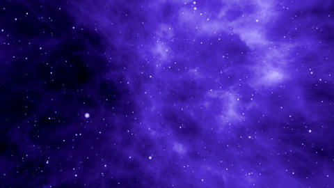 Journey through the Cosmic Clouds of Nebula Animation