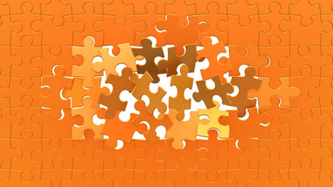Puzzles Background stock footage
