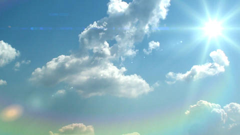sky background Stock Video Footage