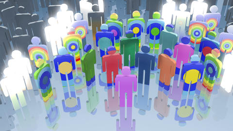 Social network Animation