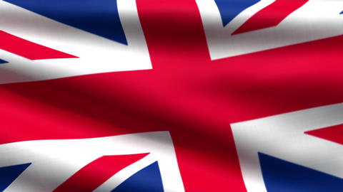 British flag background Stock Video Footage