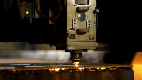 Industrial laser Footage