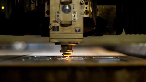 Industrial laser Stock Video Footage