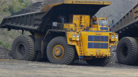 Mining Excavator Stock Video Footage