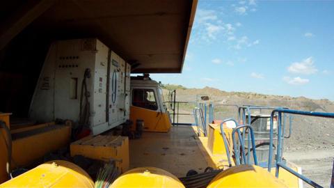 Mining dump truck Footage