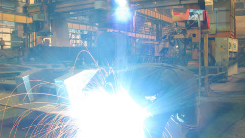 Welder Stock Video Footage