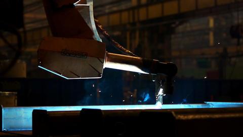 Welding robot Footage