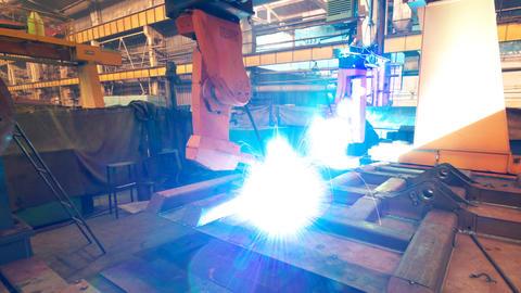 Welding robot TL 3 Footage