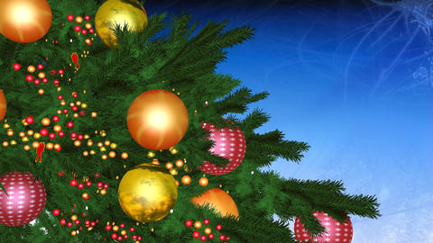 cristmas tree 01 Animation