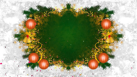 christmas frame loop 02 Animation