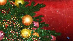 cristmas tree 01r Stock Video Footage