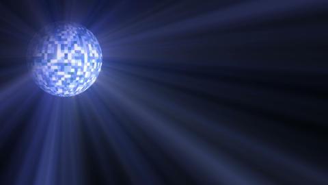 Disco Ball Light Stock Video Footage