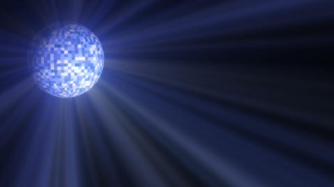 Disco Ball Light stock footage
