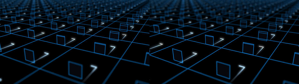 Advanced Grid - Stereoscopic 3D Animation