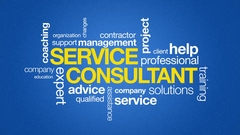 Service Consultant Animation