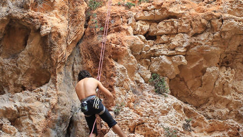 Rock climbing Mountain Climbing Extreme Sports rope cliff crag Motivation Footage