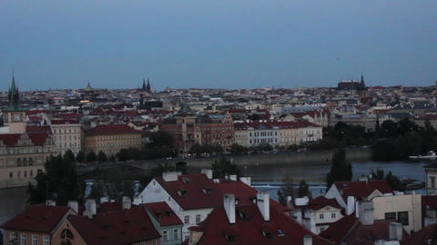Prague City 1 Stock Video Footage
