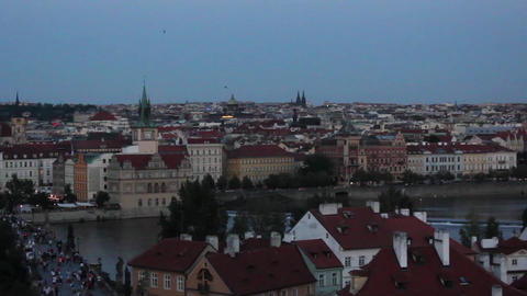 Prague City 1 Footage