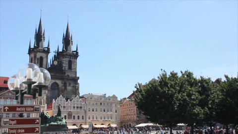 Prague City 11 Stock Video Footage