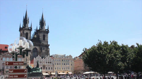Prague City 11 Stock Video Footage