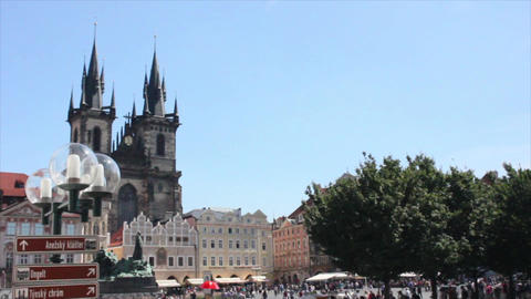 Prague City 11 Footage