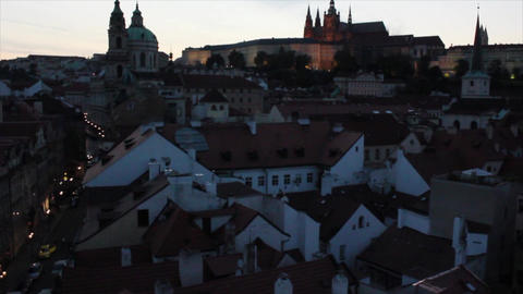 Prague City 4 Stock Video Footage