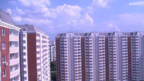 building pan 07 Stock Video Footage
