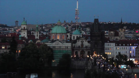 Prague City 7 Footage