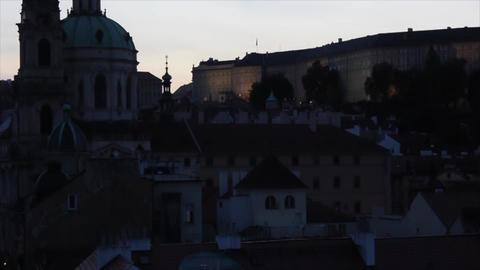 Prague City 5 Stock Video Footage
