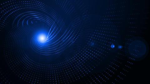 Curved Dot Array Animation