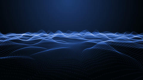 Fractal Waves Stock Video Footage