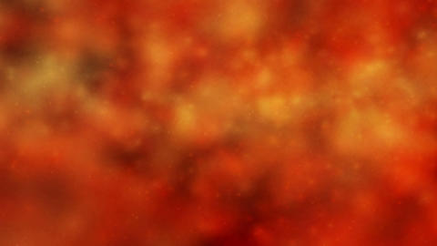 Moving Energy Orange Storm Stock Video Footage