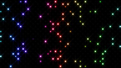 LED Wall 2 Bb 1 SR 1 HD Stock Video Footage