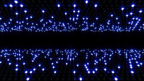 LED Wall 2 Db 1 FB HD Stock Video Footage