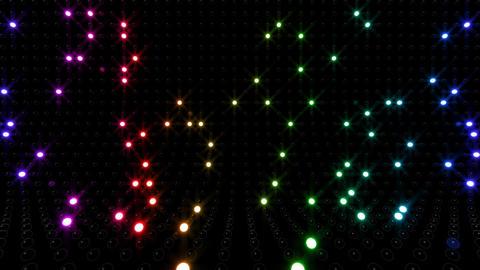 LED Wall 2 Eb 1 SR 1 HD Stock Video Footage