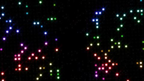 LED Wall 2 Ib 1 SR 2 HD Stock Video Footage