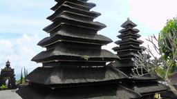 Balinese religious building,Besakih Temple,Bali Footage