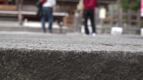 4K Walking People Foot / 歩く人々 stock footage