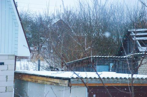 Деревня и снег フォト