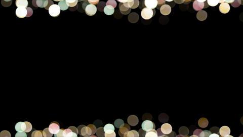 Particles Bokeh Frame 04 GIF