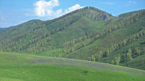 Mountains Landscape Footage
