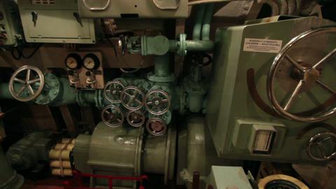 submarine main command post Footage